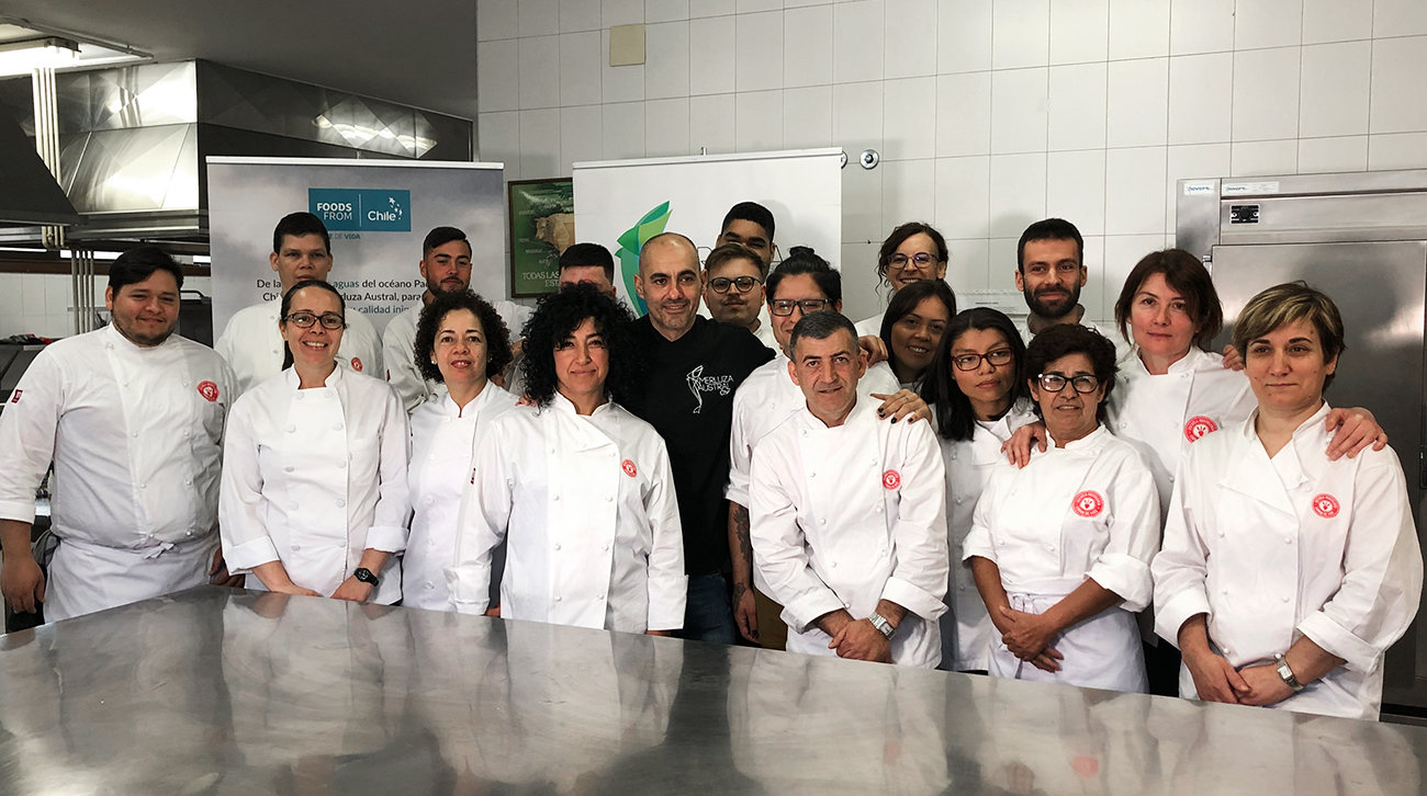 Masterclass en la Escuela de Hostelería de Vigo 2019