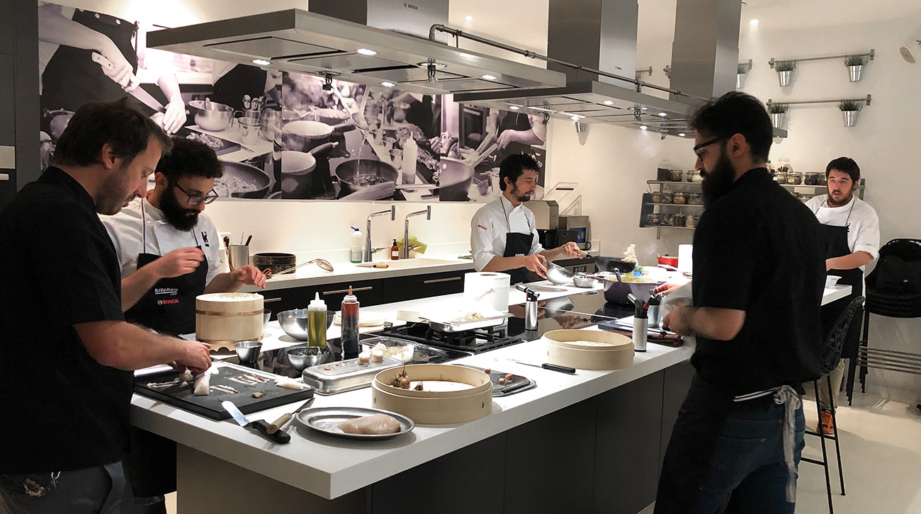 Showcooking en el Kitchen Club 2019