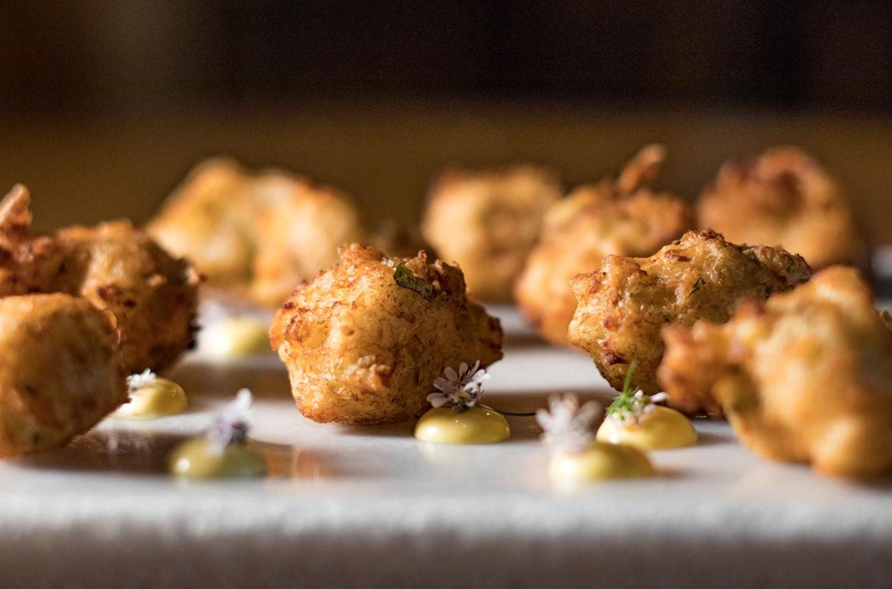 Merluza Austral Chile - Recetas del chef - Buñuelos de merluza