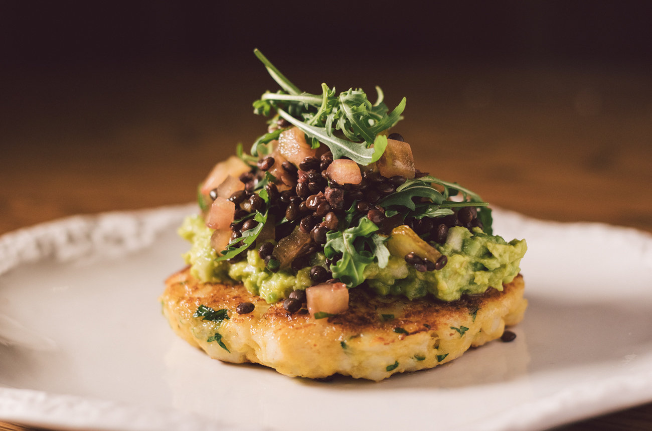 Merluza Austral Chile - Recetas del chef - Hamburguesa de merluza