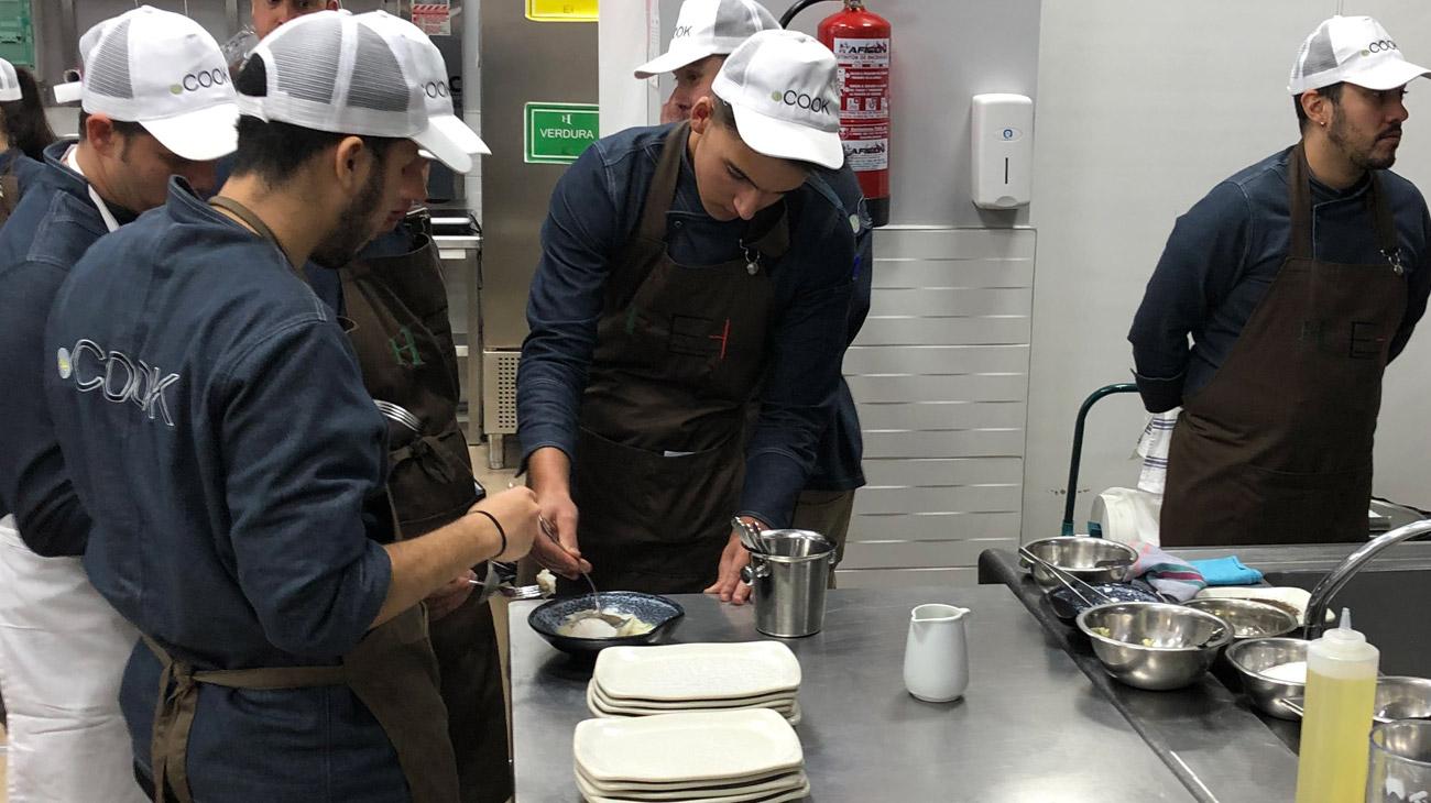 Masterclass en la Escuela de Hostelería Álvaro Cunqueiro de A Coruña 2019